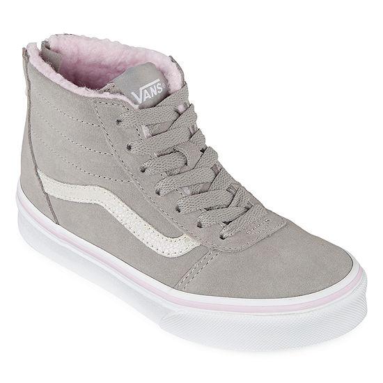 Vans Ward Hi Zip Girls Skate Shoes
