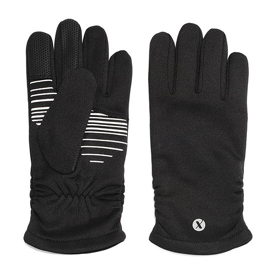 Xersion Ruched Stretch Cold Weather Gloves