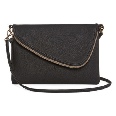 Bold Elements Dylan Zip Crossbody Bag