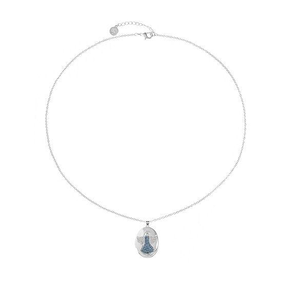 Liz Claiborne Multi Color 26 Inch Cable Locket Necklace
