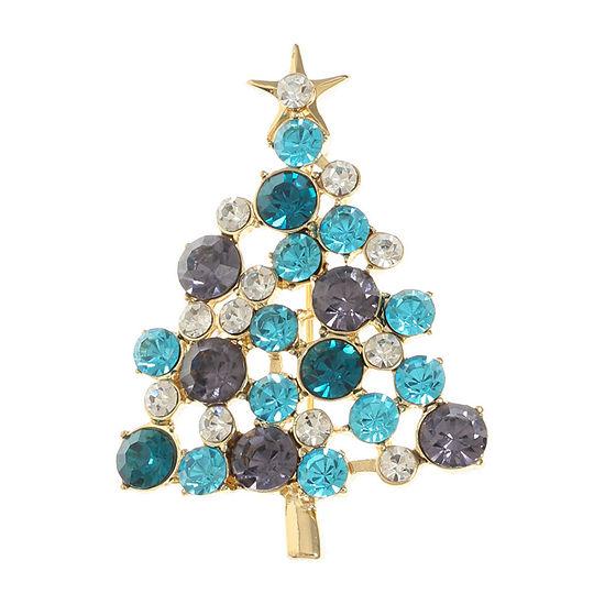 Liz Claiborne Tree Multi Color Pin