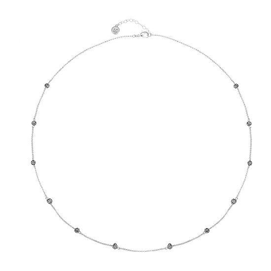 Liz Claiborne White 36 Inch Cable Strand Necklace
