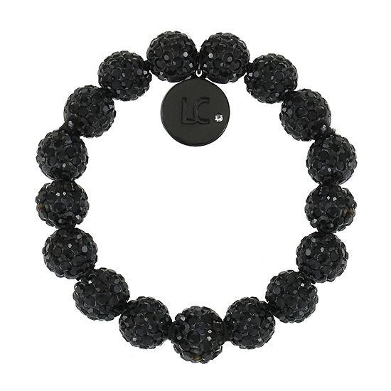 Liz Claiborne Black Stretch Bracelet