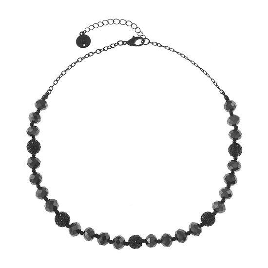 Liz Claiborne 17 Inch Cable Round Collar Necklace