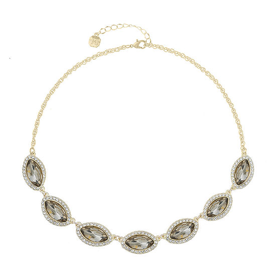 Monet Jewelry Brown 17 Inch Rope Collar Necklace