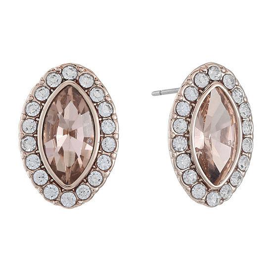 Monet Jewelry 18mm Stud Earrings