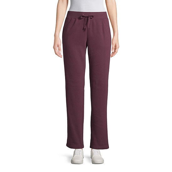 St. John's Bay Active Basic Fleece Pant- Tall