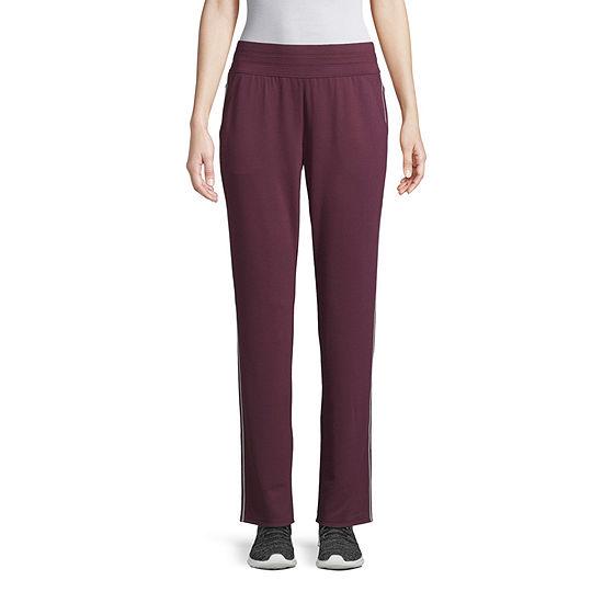 St. John's Bay Active Womens Mid Rise Slim Pant - Tall