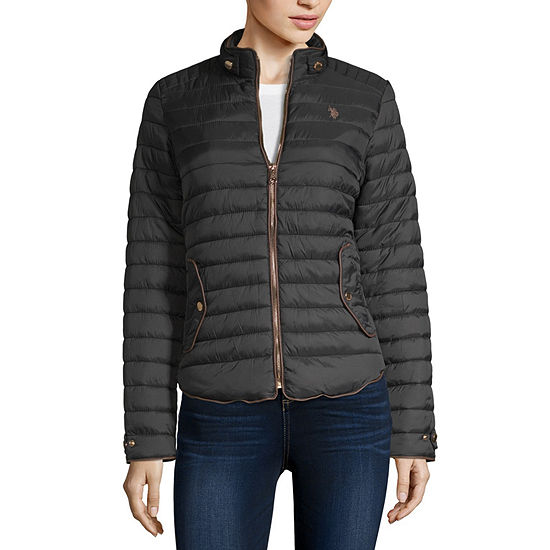 Us Polo Assn. Quilted Heavyweight Quilted Jacket
