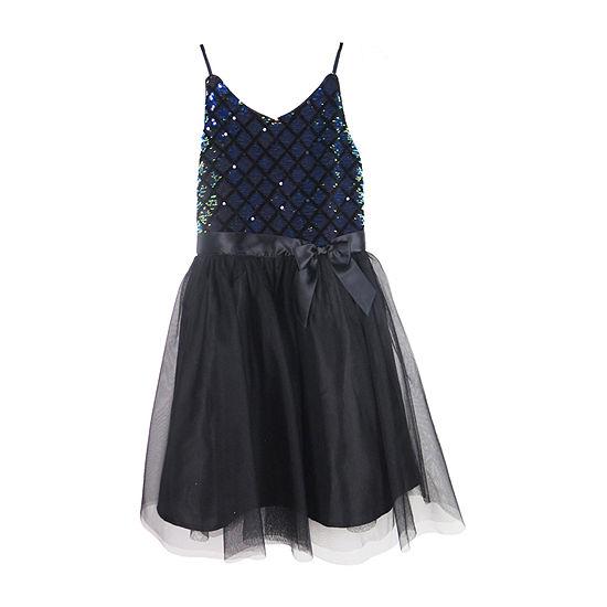 Lilt Girls Sleeveless Party Dress - Big Kid