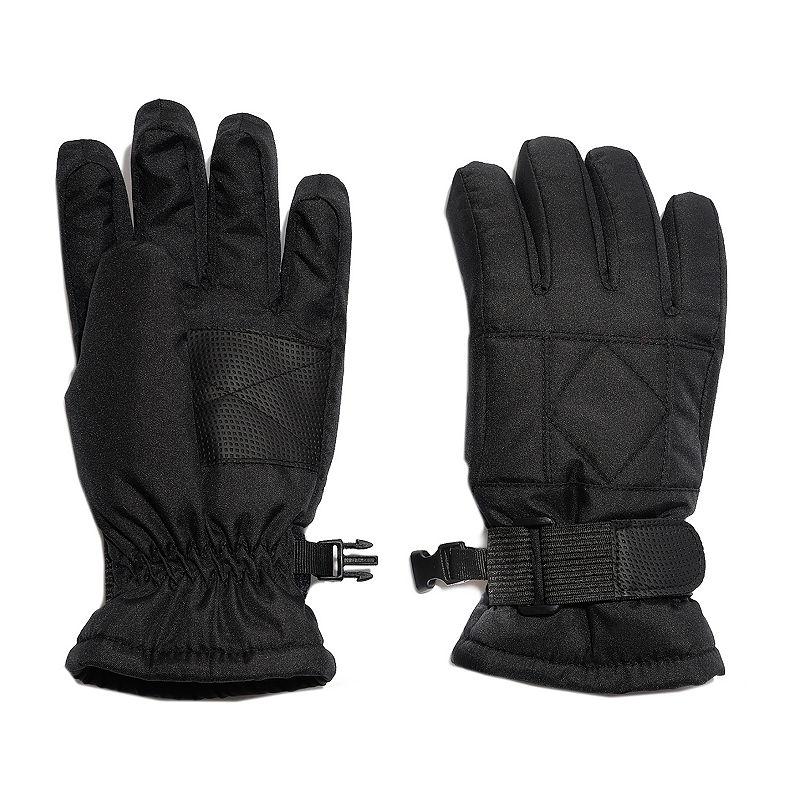 Igloos Boys Cold Weather Gloves Preschool / Big Kid, Size Large-x-large, Black -  42440080182