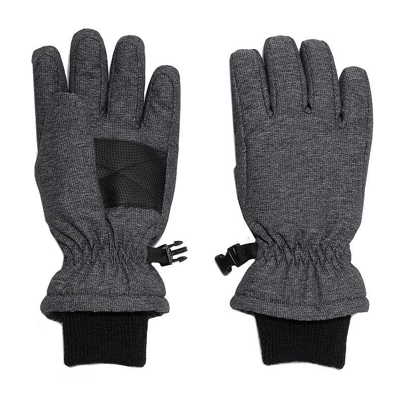 Igloos Boys Cold Weather Gloves Preschool / Big Kid, Size Large-x-large, Black -  42440430182