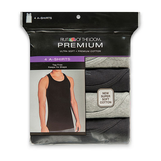 Fruit of the Loom® 4-pk. Premium A-Shirts