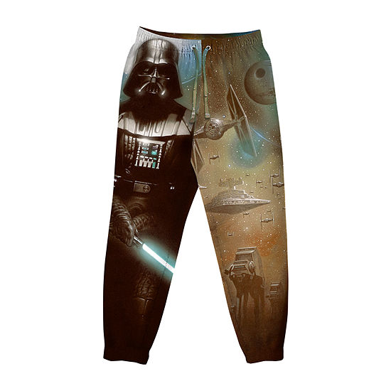 Mens Knit Pajama Pants Star Wars