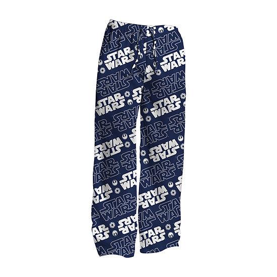 Mens Microfleece Pajama Pants Star Wars- Big and Tall