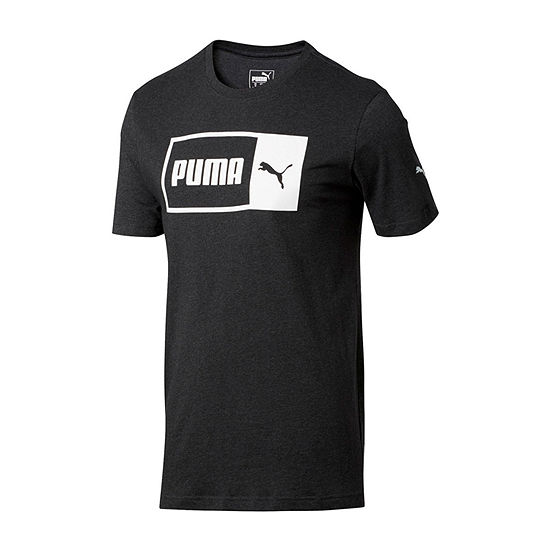 Puma Mens Crew Neck Short Sleeve T-Shirt