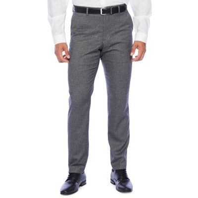 The Savile Row Co Slim Fit Stretch Suit Pants