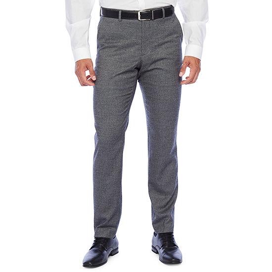 The Savile Row Co Slim Fit Flex Waist Suit Pants