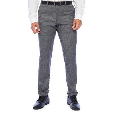 The Savile Row Co Super Slim Fit Stretch Suit Pants