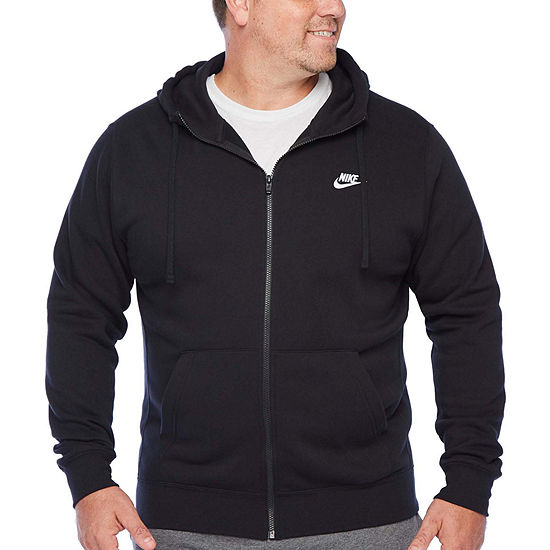 Nike-Big and Tall Mens Long Sleeve Hoodie