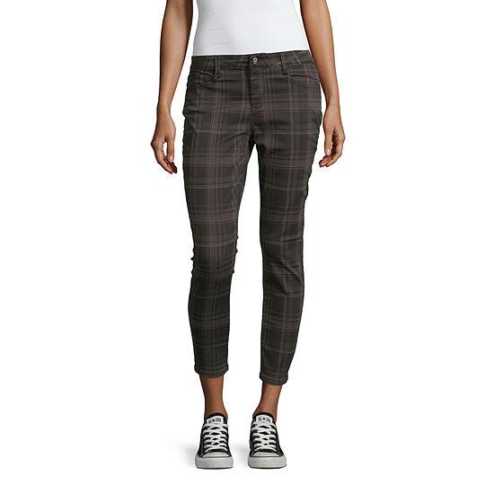 Arizona-Juniors Womens Skinny Fit Ankle Pant