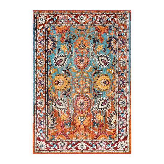 nuLoom Floral Mallory Rug