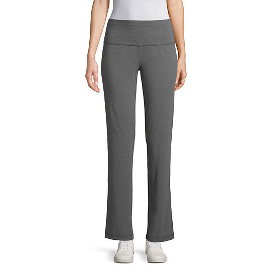 St. John's Bay Active Womens Slim Pant-Petite