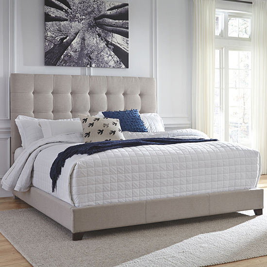 Signature Design by Ashley® Dolante Collection Tufted Bed