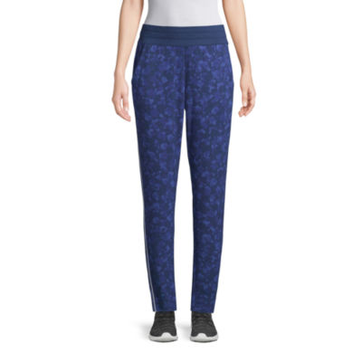 St. John's Bay Active Womens Mid Rise Slim Pant