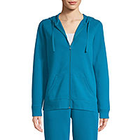 Deals on St. Johns Bay Womens Active Fleece Lightweight Jacket