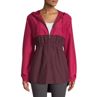 St. John's Bay Active Water Resistant Lightweight Colorblock Anorak