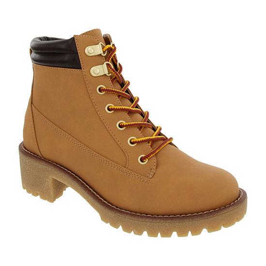Sugar Womens Marby Hiking Boots Flat Heel