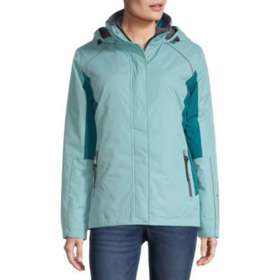 Free Country 3-In-1 Systems Hooded Wind Resistant Water Resistant Heavyweight Jacket