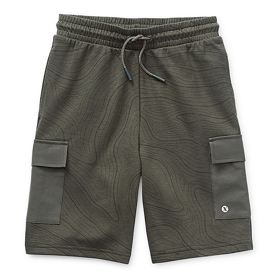 Xersion Little & Big Boys Adjustable Waist Cargo Short