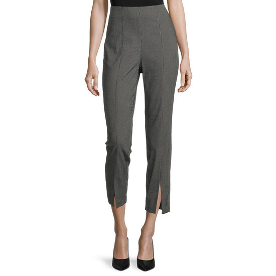 Worthington Womens Ankle Pull-On Pants