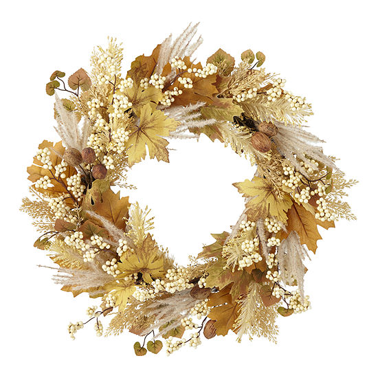 JCP: 24in Foraged Wreath! .99 (REG .00) with code ALLYOU9 at JCPenney!