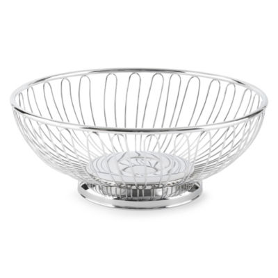 International® Silver Round Wire Basket