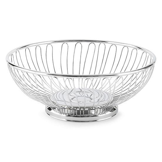 International® Silver Round Wire Basket
