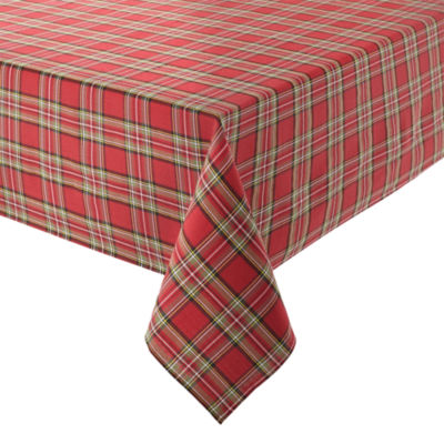 JCPenney Home™ Holiday Tartan Plaid Tablecloth