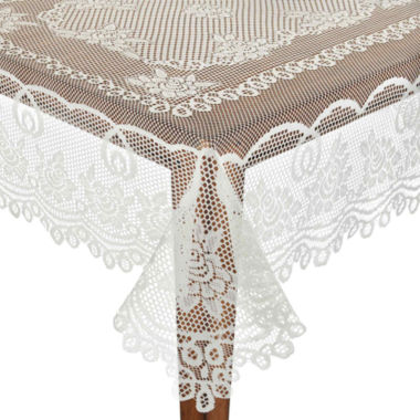 Domay Floral Lace Tablecloth