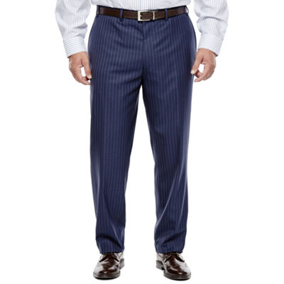Collection by Michael Strahan Striped Navy Suit Pants - Big & Tall