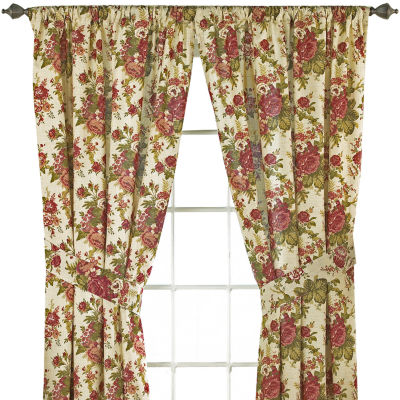 Perfect Waverly® Norfolk 2 Pack Floral Curtain Panels
