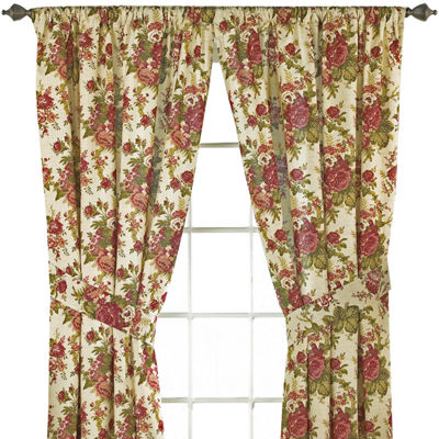 Waverly® Norfolk 2-Pack Floral Curtain Panels