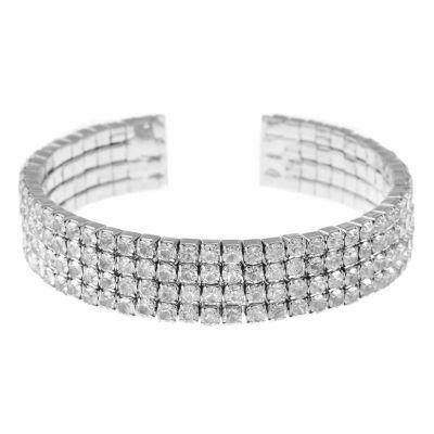 Monet Jewelry White Bangle Bracelet