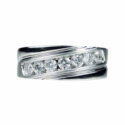 LIMITED QUANTITIES! Womens 1 CT. T.W. White Diamond 10K Gold Band