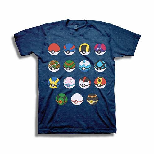 Pokémon Short-Sleeve Poké Balls Tee