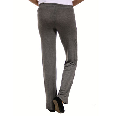 24/7 Comfort Apparel Womens Mid Belly Drawstring Pants - Plus Maternity