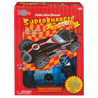 Supercharger Deluxe Racing Car Kit