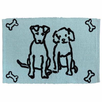 P. B. Paws by Park B. Smith® Dog Friends Cotton Pet Mat
