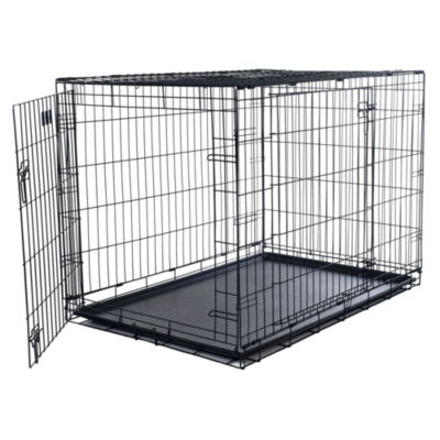 Petmaker 2 Door Foldable Dog Crate Cage